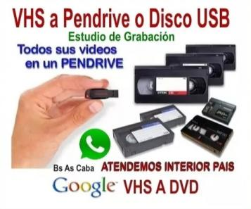 Electrónica - Audio - Video,Dvd VHS Video A Digital.